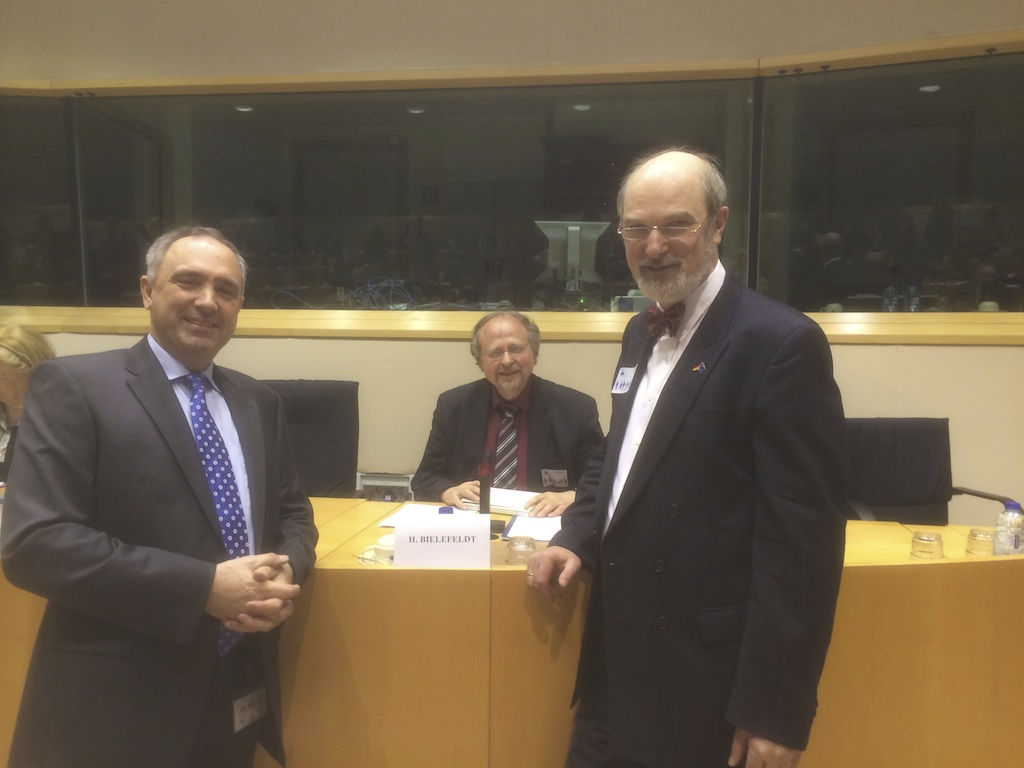 Brussels EU Parliament Hearing – USCIRF-delegation and UN-Rapporteur 2014